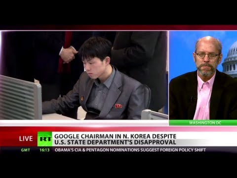 Party Search: Why's North Korea attractive for Google?