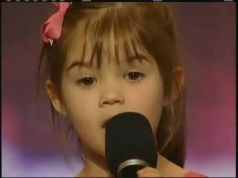 Kaitlyn Maher -Cô bé 4 tuổi đi tìm kiểm tài năng ở Mỹ