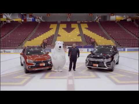 Bear Mascot Slipping on Ice in Hilarious Outtakes from Minnesota Car Dealership