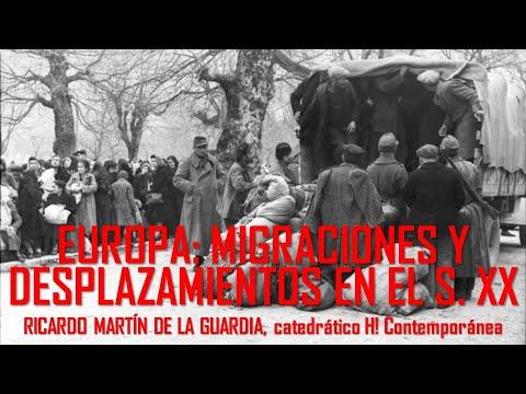 Migraciones y desplazamientos de población tras la II Guerra Mundial. Ricardo Martín de la Guardia