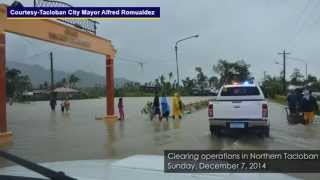 Typhoon Ruby: Effects In Eastern, Central Visayas