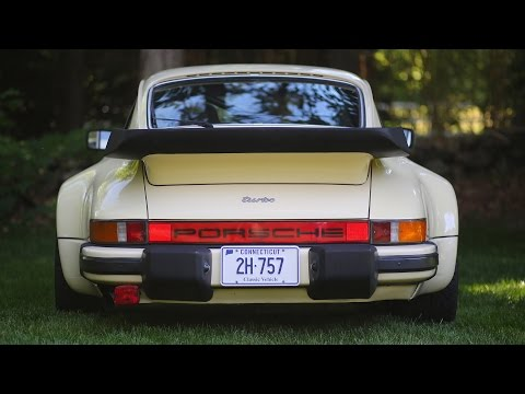 Porsche 930 (911 Turbo) review and drive (видео)