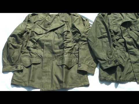 Vintage M-1943, M-1950 Field Jackets