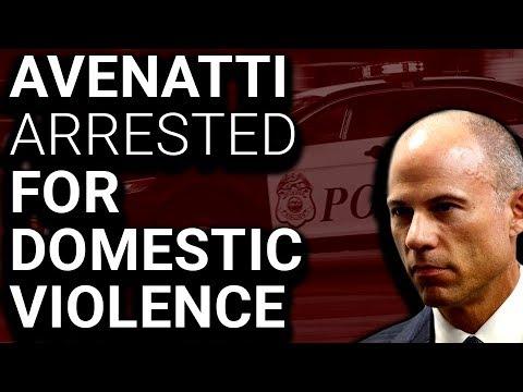 Michael Avenatti Arrested for Domestic Violence in Possible Right Wing Hoax