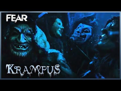 Der Klown And The Elves Kidnap Baby Chrissie | Krampus (2015)