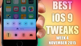 BEST iOS 9 Jailbreak Cydia Tweaks - Week 4 November 2015, ios 9, ios, iphone, ios 9 ra mat