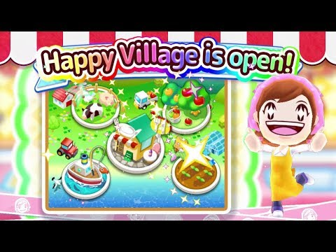 Welcome To Happy Village! Cooking Mama Let's Cook
