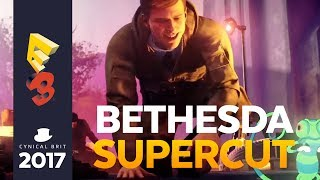"Bethesdas relatively short conference with full of games but very few surprises. Here is some irreverent and obnoxious commentary on it, as well as a breakdown and discussion on the ""paid mods"" controversy. Watch us complain about Fallout, Skyrim, card games, Evil Within 2 and Wolfenstein. Taken from the Snarkathon livestream."