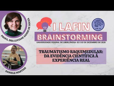 I LAFIN BRAINSTORMING- TRAUMATISMO RAQUIMEDULAR: DA EVIDÊNCIA CIENTÍFICA À EXPERIÊNCIA REAL