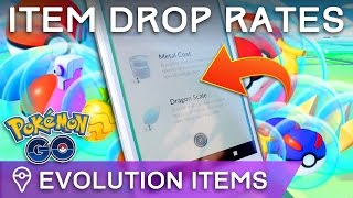 HOW RARE ARE EVOLUTION ITEMS? POKÉMON GO ITEM DROP RATES by Trainer Tips
