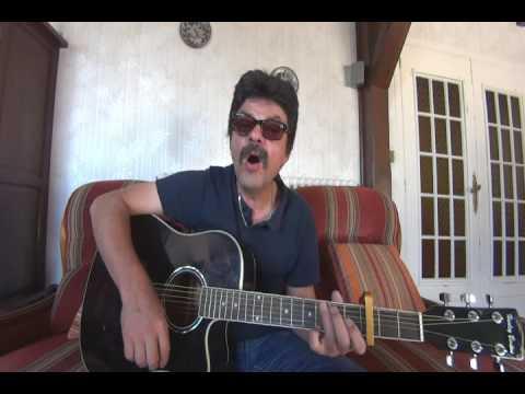 Le costume blanc JOE DASSIN cover guitare