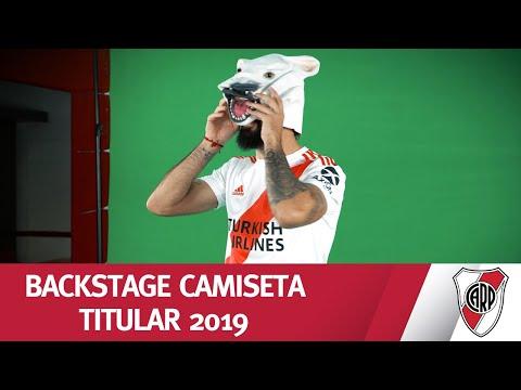 RIVER A PURA RISA - Backstage camiseta titular 2019