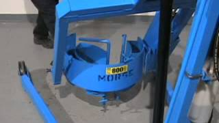 Morse Hydra-Lift Drum Karriers to Lift and Pour almost any drum