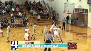 Rochester High School Boys Basketball vs Southwood
