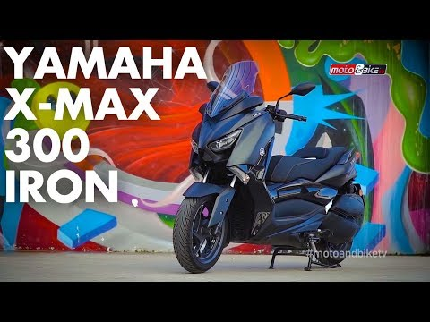 YAMAHA X MAX 300 IRON