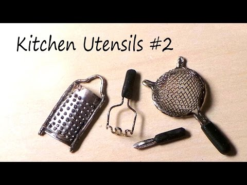 Food Peeler - Hey Guys! Today's tutorial is for some more kitchen utensils (Metal & polymer clay). If you didn't see my last tutorial with the knives and whisk click here; https://www.youtube.com/watch?v=a8EhO3d...