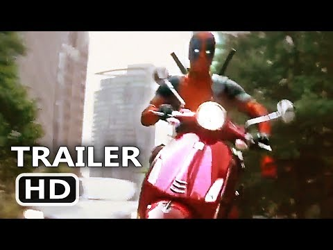 "DEADPOOL 2 ""Scooter Chase"" Clip (NEW 2018) Ryan Reynolds Movie HD"