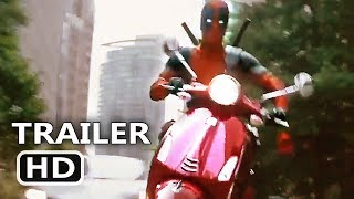 "Video DEADPOOL 2 ""Scooter Chase"" Clip (NEW 2018) Ryan Reynolds Movie HD MP3, 3GP, MP4, WEBM, AVI, FLV Mei 2018"