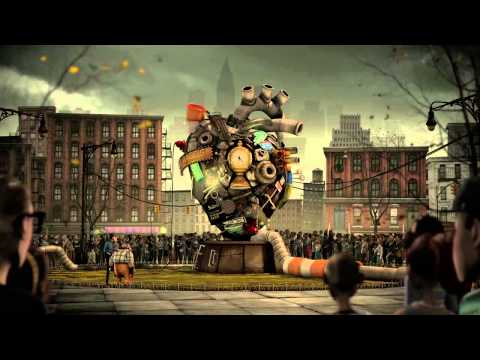 Cách mà con người đứng lên từ đống đổ nát :)
