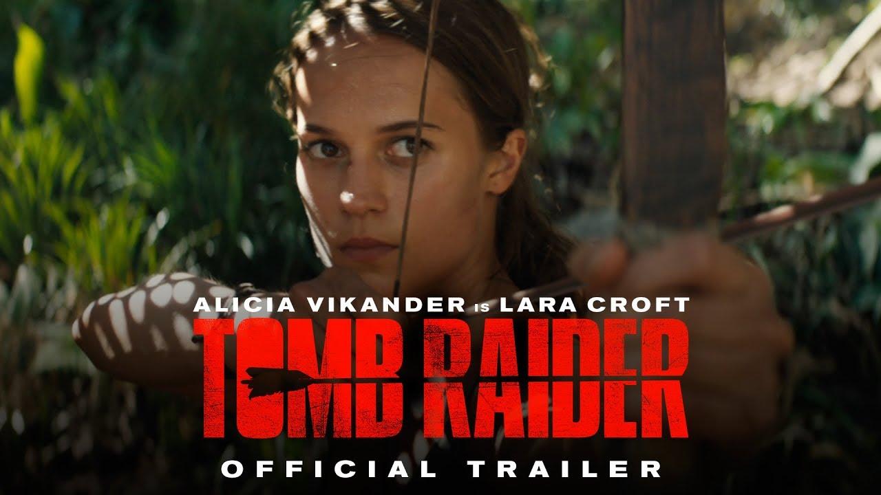 Her Legend Begins. Alicia Vikander is Lara Croft in 'Tomb Raider' (Trailer)