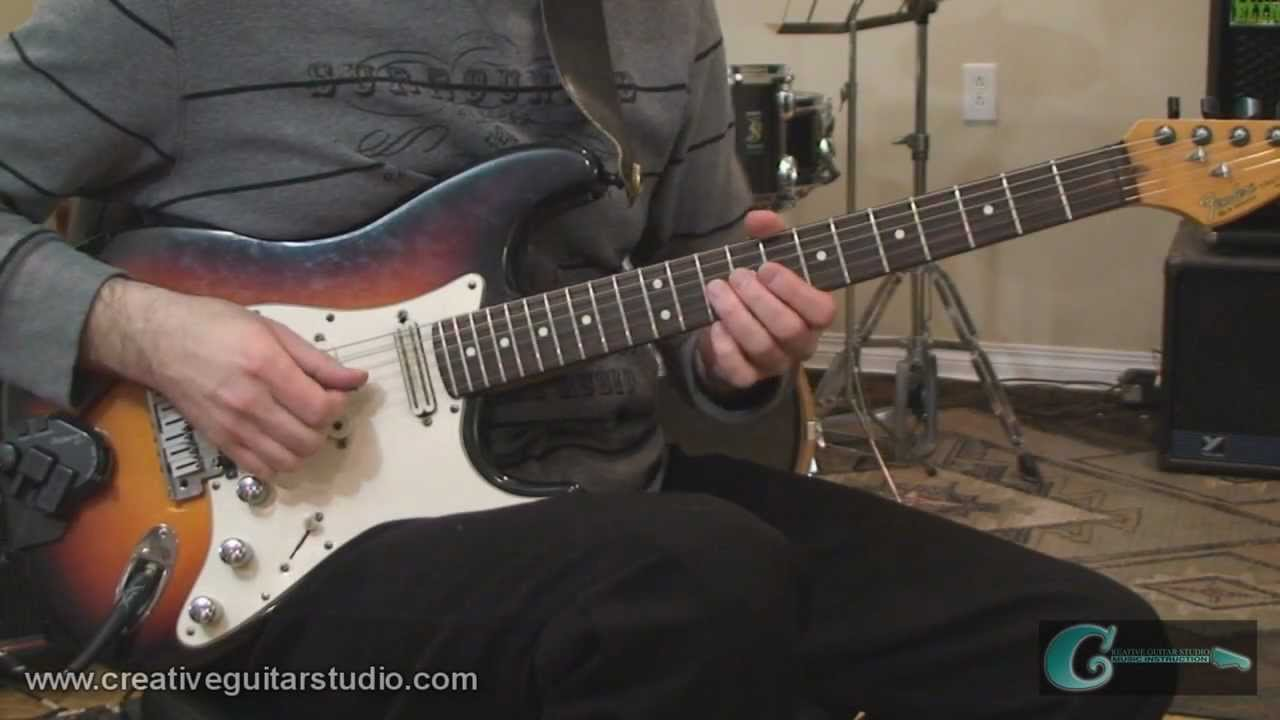 GUITAR THEORY: Scale Application Workout