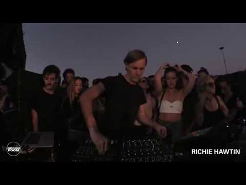 """Richie Hawtin playing track Phobos Records """"Dustin Holtsberry - Oil Spill"""" live at Boiler Room"""