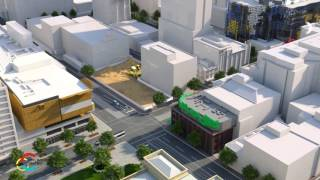 CBD station construction animation