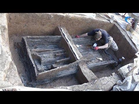 Археологи обнаружили захоронение древних новгородцев ориентировочно конца X – первой половины XI века