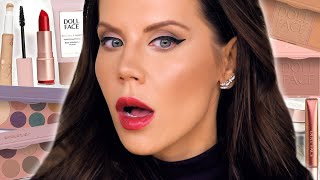 NEW DRUGSTORE MAKEUP ... Every Product Tested! by Glam Life Guru