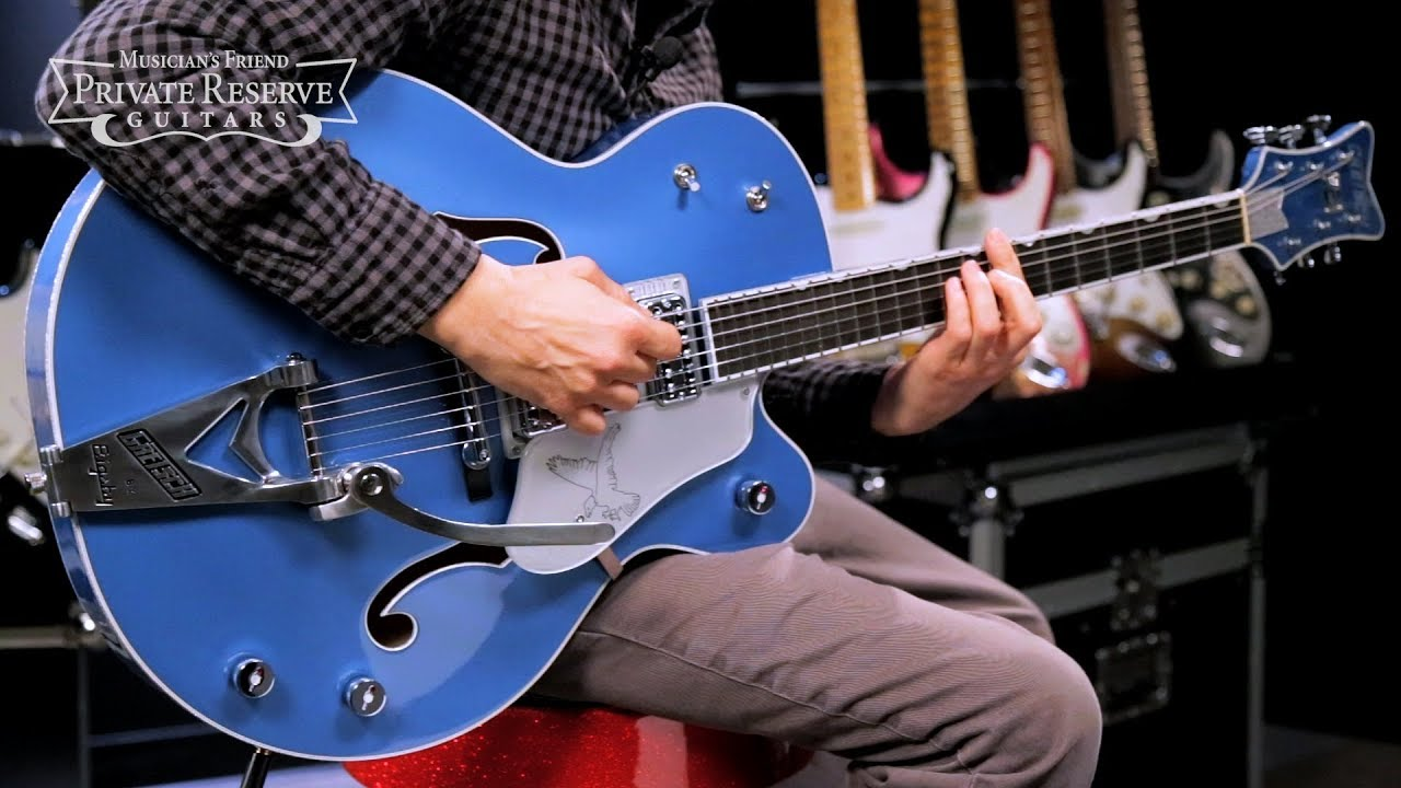 Gretsch Guitars Limited Edition G6136T-59 Falcon with Bigsby Semi-Hollow Electric Guitar