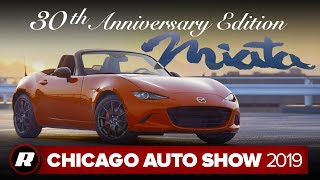 2019 Mazda MX-5 Miata 30th Anniversary Edition is a bright celebration | Chicago 2019 by Roadshow