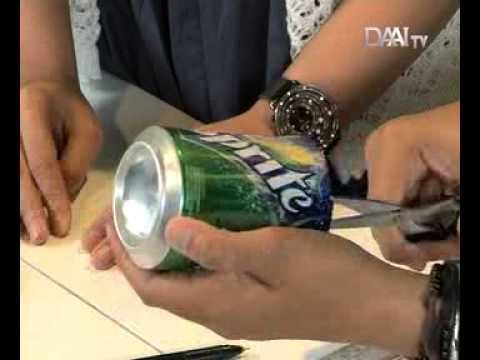"""House & Living DAAI TV: Do It Yourself """"Membuat Wadah Kaleng"""""""