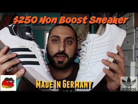 $250 Adidas Samba OG Made In Germany!? видео