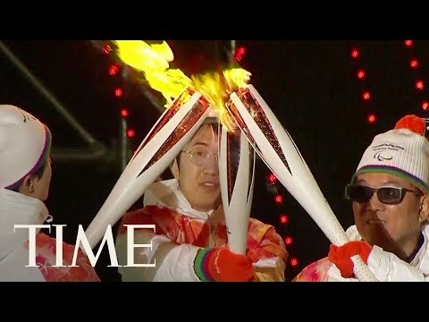 Watch The 2018 Winter Paralympics Torch Ceremony Kick Off Event In Pyeongchang, South Korea | TIME