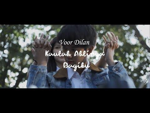 Download Video OST DILAN 1990 - Kaulah Ahlinya Bagiku Lirik Video