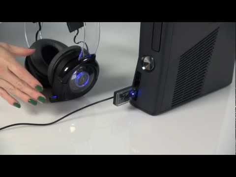 How to pair wireless head - How to set up your Afterglow Wireless Headset for the Xbox 360. For more information please visit www.AfterglowGaming.com 'Like' Afterglow on Facebook: http:...