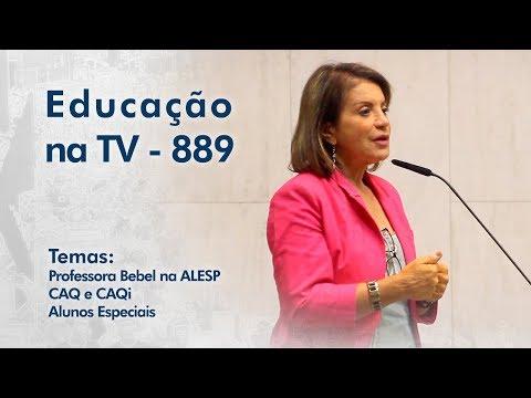 Professora Bebel na ALESP / CAQ e CAQi / Alunos Especiais
