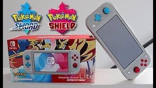 Pokemon Sword and Shield Switch Console Unboxing by Unlisted Leaf
