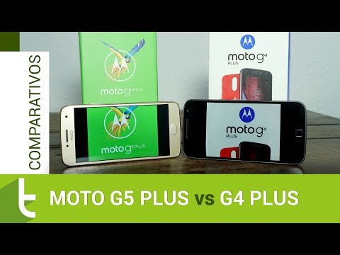 Comparativo: Moto G5 Plus vs G4 Plus  Review do TudoCelular