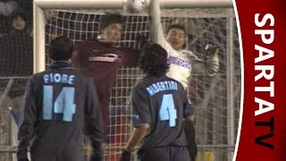 Marek Kincl trifft per Kopf gegen Lazio Rom
