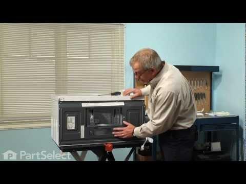 Microwave Repair Replacing The Light Bulb 40w Exterior