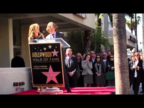 Felicity Huffman Walk of Fame Ceremony