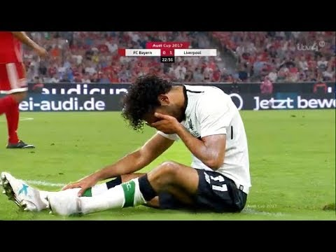 Mohamed Salah Vs Bayern Munich (Audi Cup) • Bayern Munich Vs Liverpool 2017