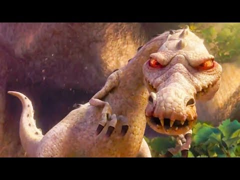 Ice Age 3: Dawn Of The Dinosaurs (2009) - Buck Vs Rudy Battle Scene! - Movieclip HD