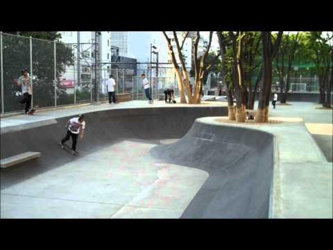 Haddieman in Japan 05-08-2011 Miyashita Koen Skatepark