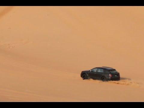 H Bentley Bentayga σε δοκιμές στο Dubai