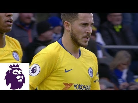 Video: Eden Hazard scores on breakaway for Chelsea against Brighton | Premier League | NBC Sports
