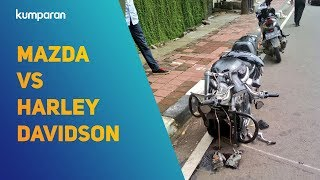 Video Kecelakaan Mazda dan Harley Davidson MP3, 3GP, MP4, WEBM, AVI, FLV Februari 2018