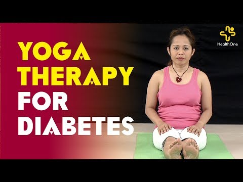 Yoga Therapy For Diabetes | By Christie | Murali Kameti | TeluguOne Health