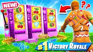 SLOT MACHINE *RANDOM* Match the WEAPONS Game Mode in Fortnite Battle Royale